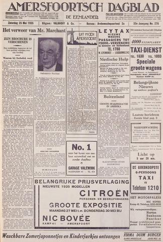Amersfoortsch Dagblad / De Eemlander 1935-05-25