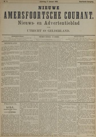 Nieuwe Amersfoortsche Courant 1885-01-17