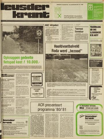 Leusder Krant 1980-08-05