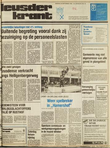 Leusder Krant 1982-09-28