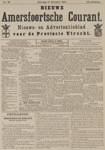 Nieuwe Amersfoortsche Courant 1915-12-11