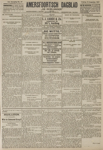 Amersfoortsch Dagblad / De Eemlander 1927-08-12