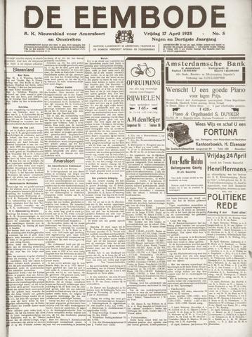De Eembode 1925-04-17