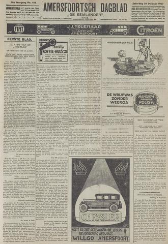 Amersfoortsch Dagblad / De Eemlander 1927-10-29