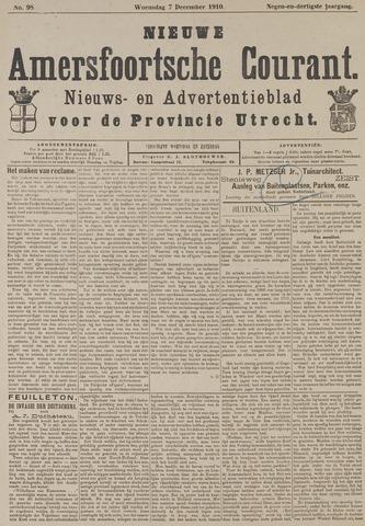 Nieuwe Amersfoortsche Courant 1910-12-07