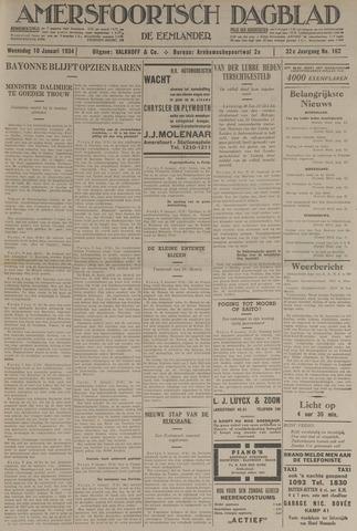 Amersfoortsch Dagblad / De Eemlander 1934-01-10