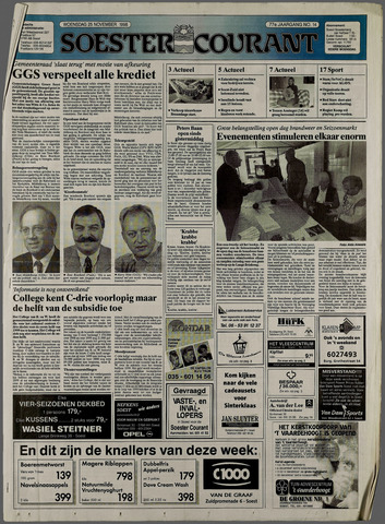 Soester Courant 1998-11-25