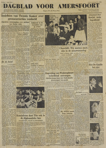 Dagblad voor Amersfoort 1949-04-01