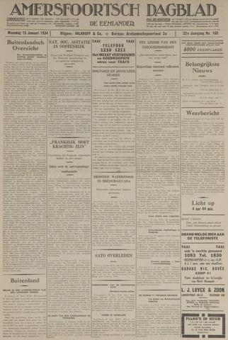 Amersfoortsch Dagblad / De Eemlander 1934-01-15