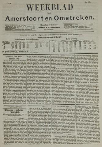 Weekblad voor Amersfoort en Omstreken 1878-10-12