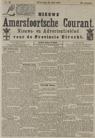 Nieuwe Amersfoortsche Courant 1917-04-25