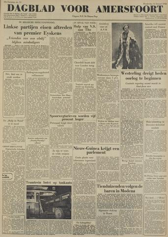 Dagblad voor Amersfoort 1950-01-12