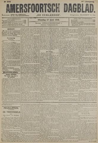 Amersfoortsch Dagblad / De Eemlander 1916-06-27