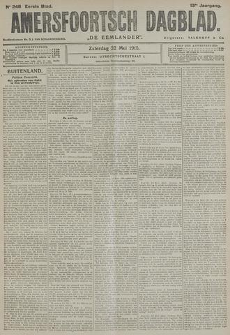 Amersfoortsch Dagblad / De Eemlander 1915-05-22