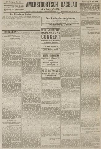 Amersfoortsch Dagblad / De Eemlander 1925-05-13