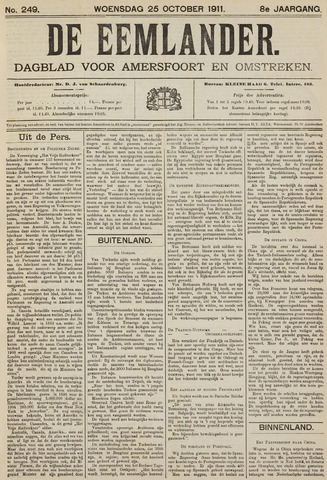 De Eemlander 1911-10-25