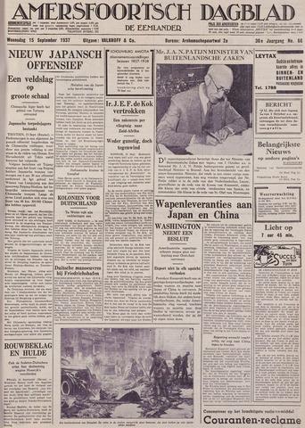 Amersfoortsch Dagblad / De Eemlander 1937-09-15
