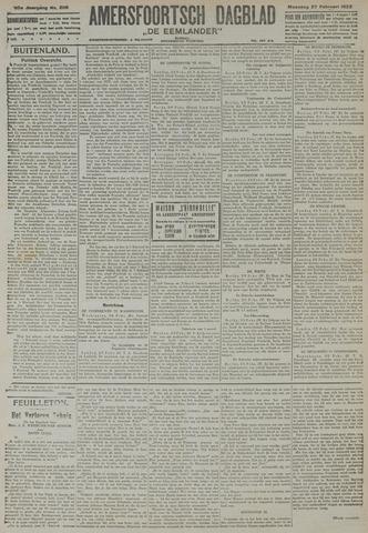 Amersfoortsch Dagblad / De Eemlander 1922-02-27