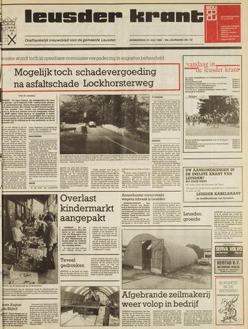 Leusder Krant 1988-07-21