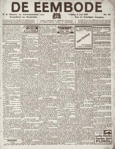 De Eembode 1927-07-08