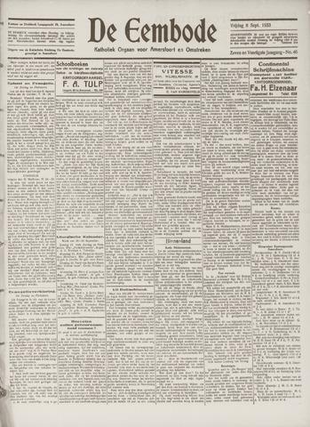 De Eembode 1933-09-08