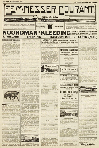 Eemnesser Courant 1924-08-15