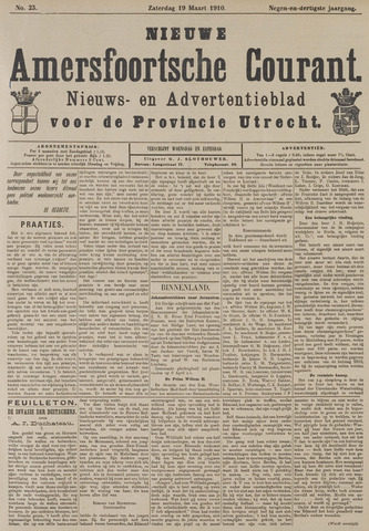 Nieuwe Amersfoortsche Courant 1910-03-19