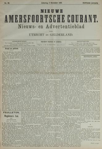 Nieuwe Amersfoortsche Courant 1889-11-02