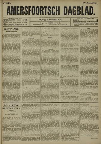 Amersfoortsch Dagblad 1910-02-11