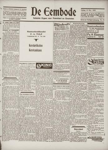 De Eembode 1933-12-22