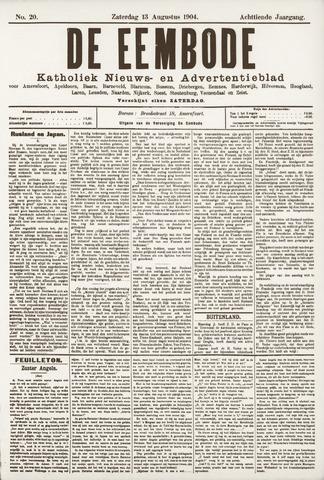 De Eembode 1904-08-13
