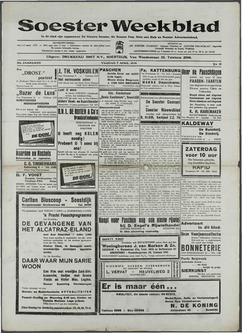 Soester Courant 1939-04-07
