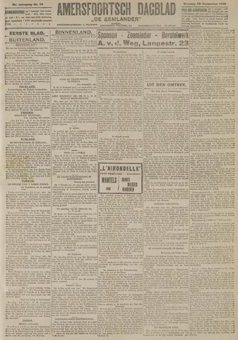 Amersfoortsch Dagblad / De Eemlander 1922-09-26