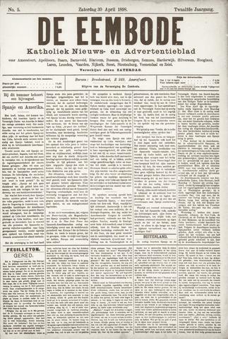 De Eembode 1898-04-30