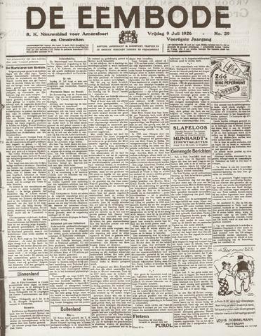 De Eembode 1926-07-09