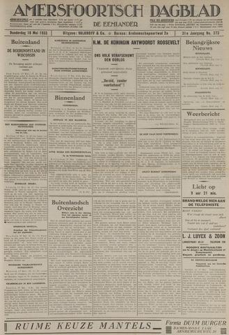 Amersfoortsch Dagblad / De Eemlander 1933-05-18