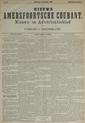 Nieuwe Amersfoortsche Courant 1890-11-12