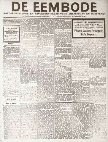 De Eembode 1918-08-30