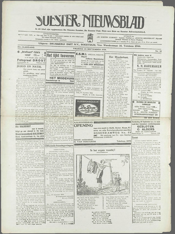 Soester Courant 1938-09-23