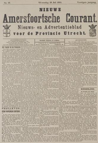 Nieuwe Amersfoortsche Courant 1911-07-19