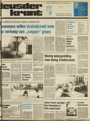 Leusder Krant 1982-09-21