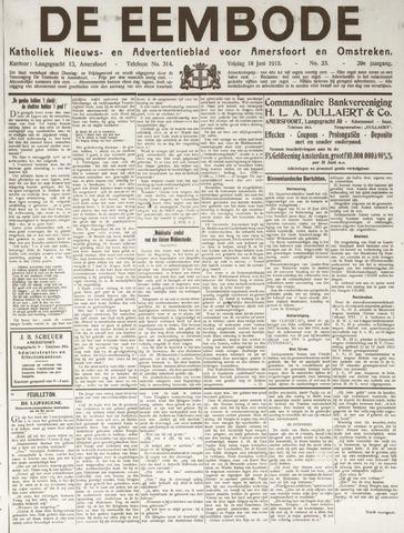 De Eembode 1915-06-18