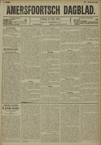 Amersfoortsch Dagblad 1907-05-24