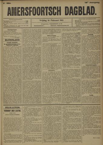 Amersfoortsch Dagblad 1912-02-16