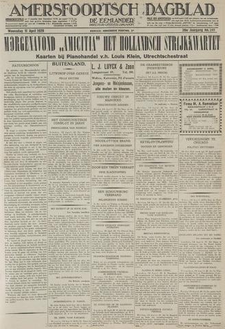 Amersfoortsch Dagblad / De Eemlander 1928-04-11