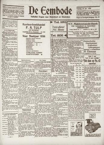 De Eembode 1936-01-21