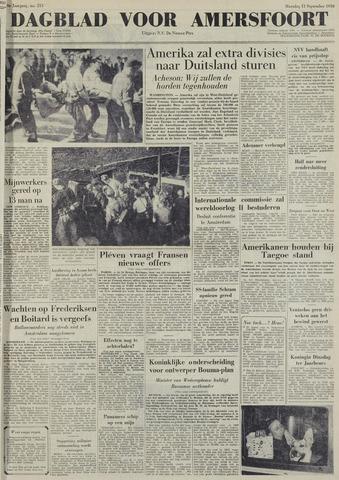 Dagblad voor Amersfoort 1950-09-11