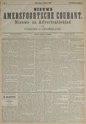 Nieuwe Amersfoortsche Courant 1889-01-09