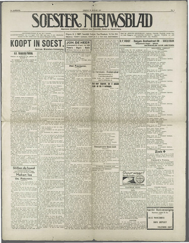 Soester Courant 1932