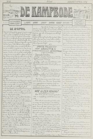 De Kampbode 1916-04-09